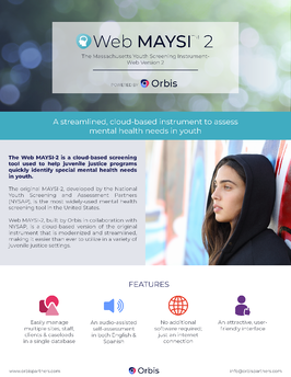 Mental health assessment for youth brochure